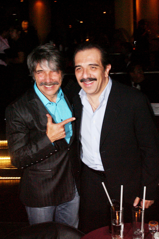 Diego Verdaguer y Gustavo Murguía