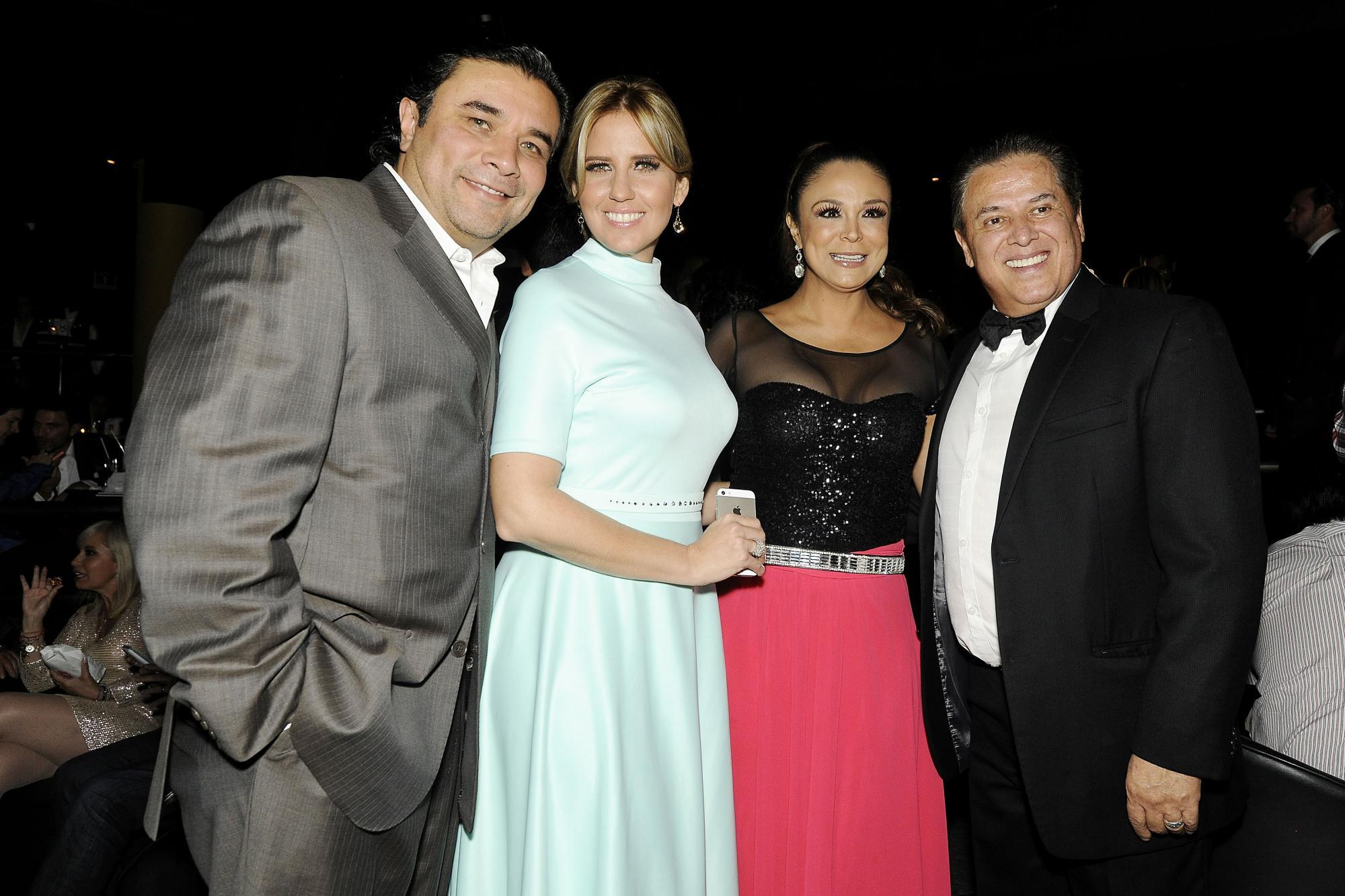 Alejandro Gavira, Raquel Bigorra, Brenda Bezares y Mario Bezares