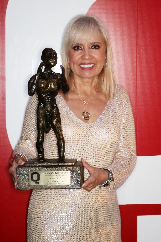 La productora de Hoy, Carla Estrada