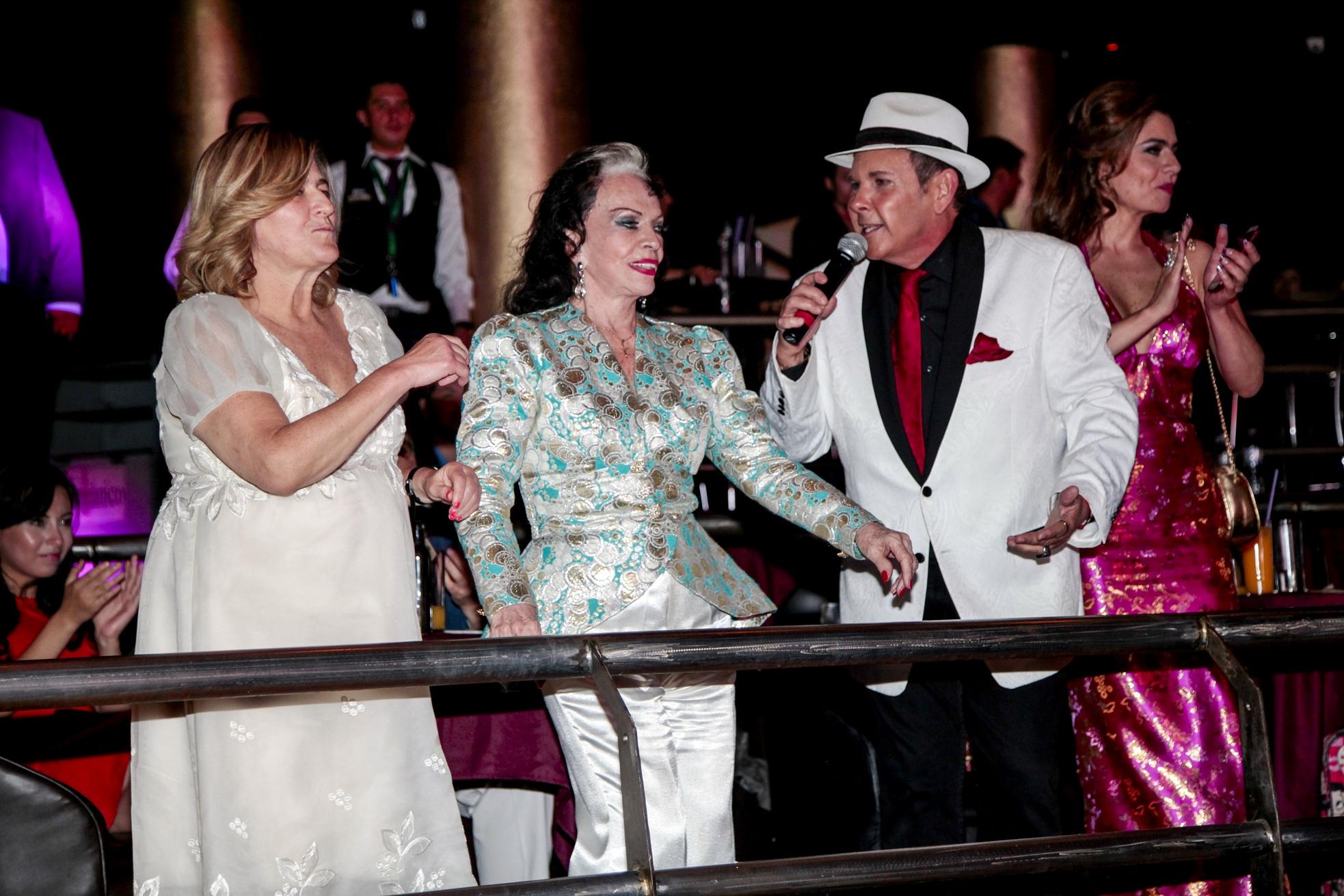 Margarita de la Madrid, Yolanda Montes Tongolele y Franco