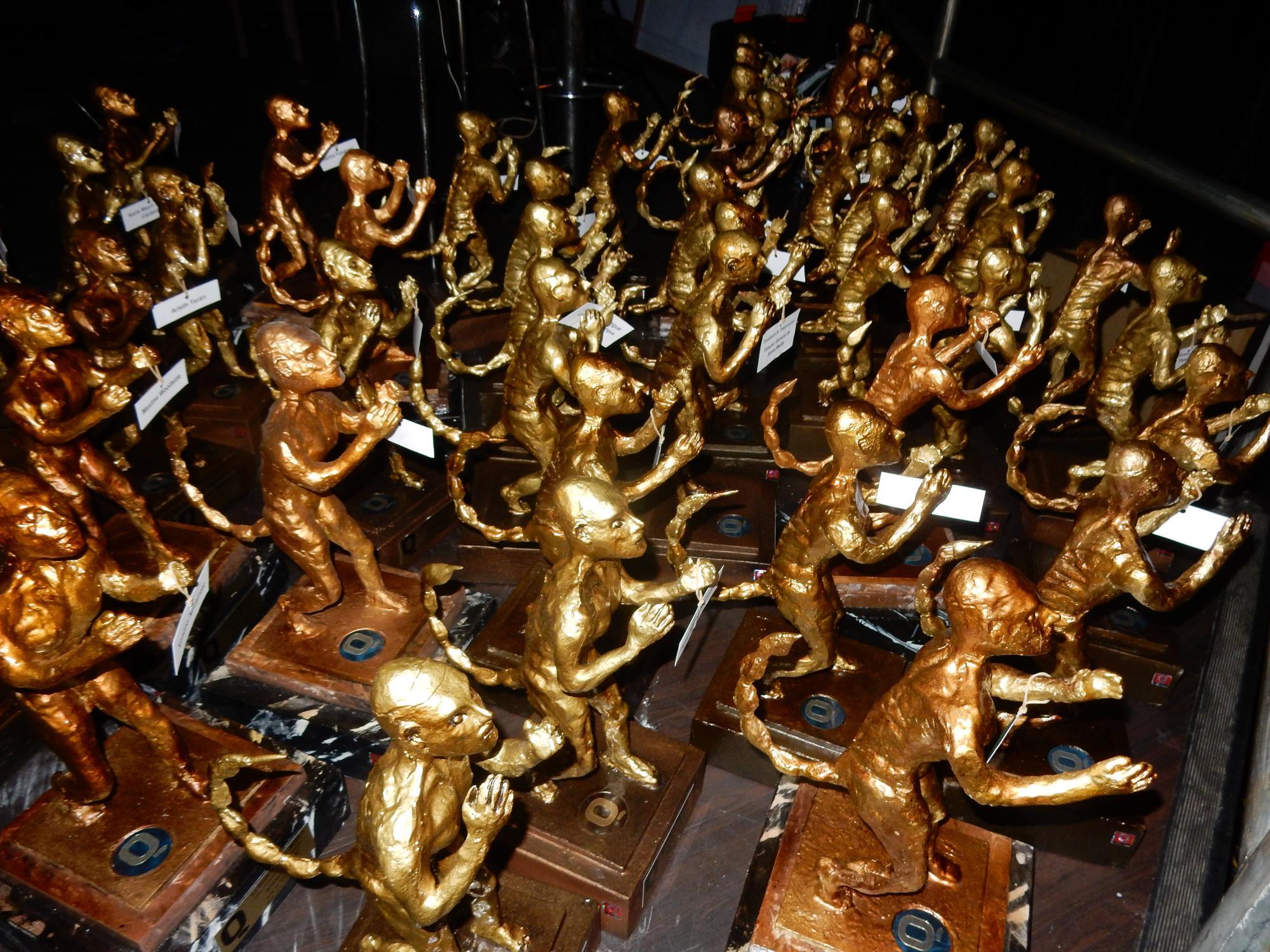 La invasión de los Premios de la Revista Q