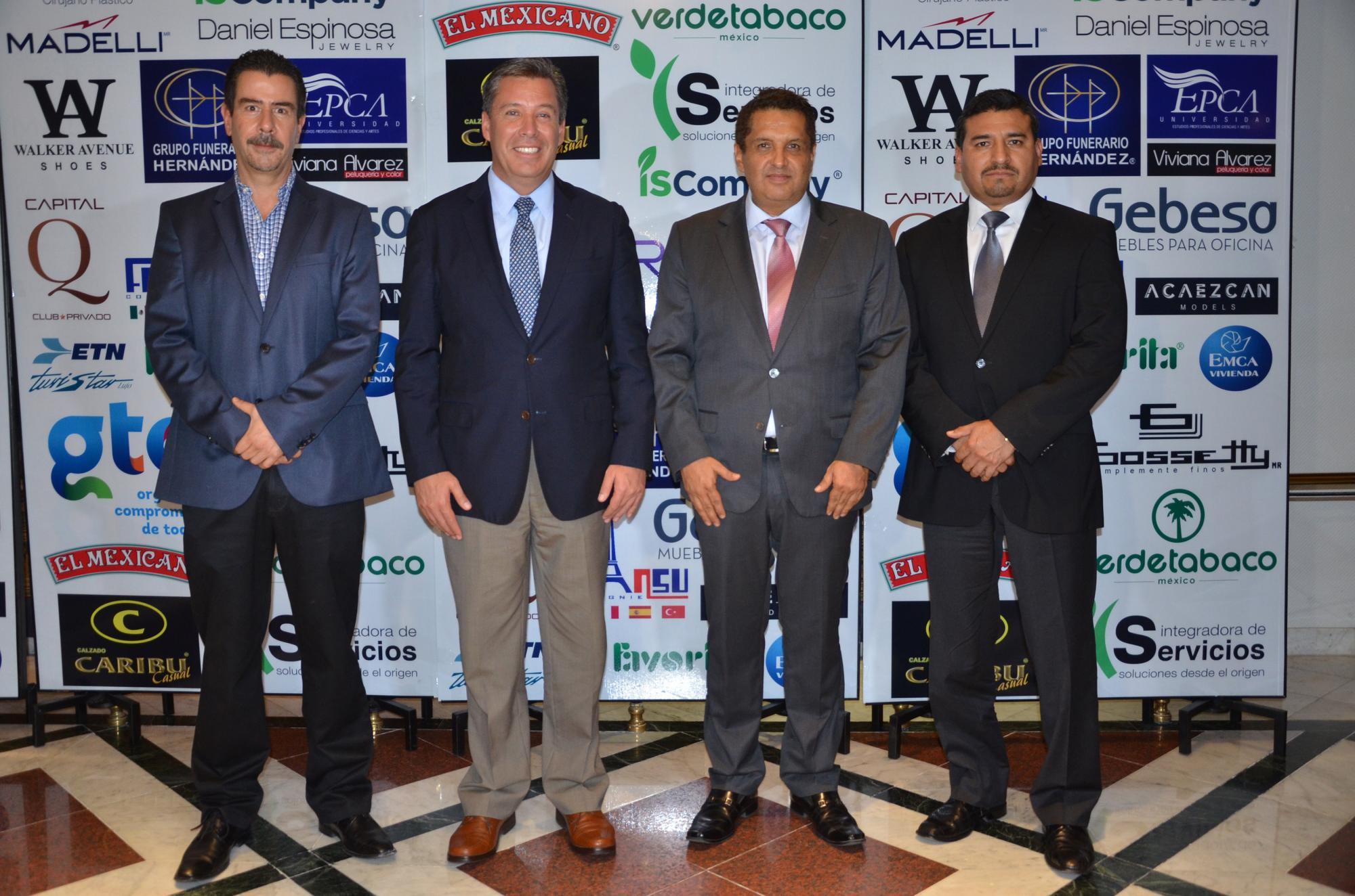 Alvar Cabeza de Vaca, el Gobernador del Estado, Miguel Márquez Márquez, Gerardo Aguirre y Carlos Zamarripa