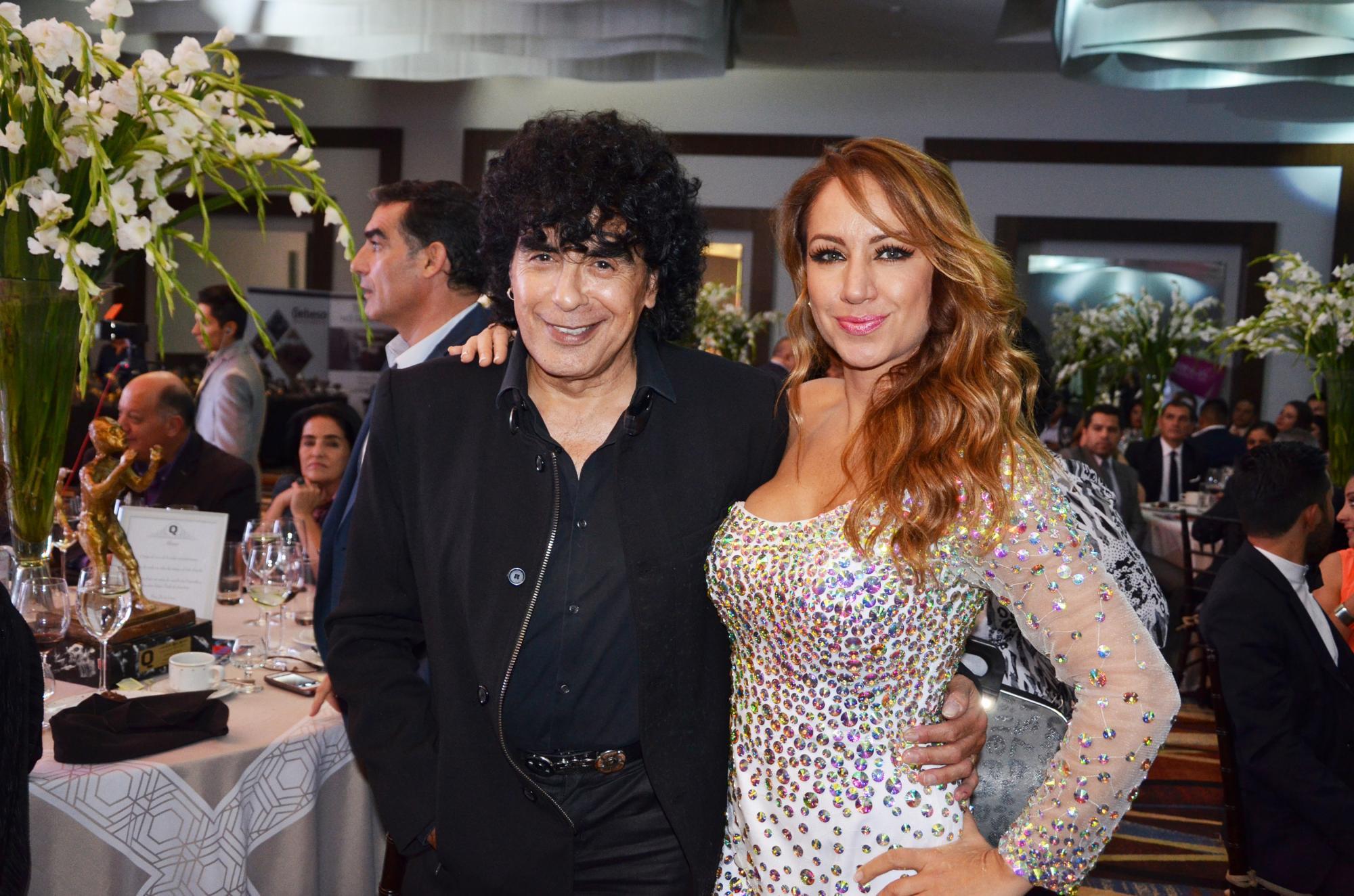 Laureano Brizuela y Maya Karunna