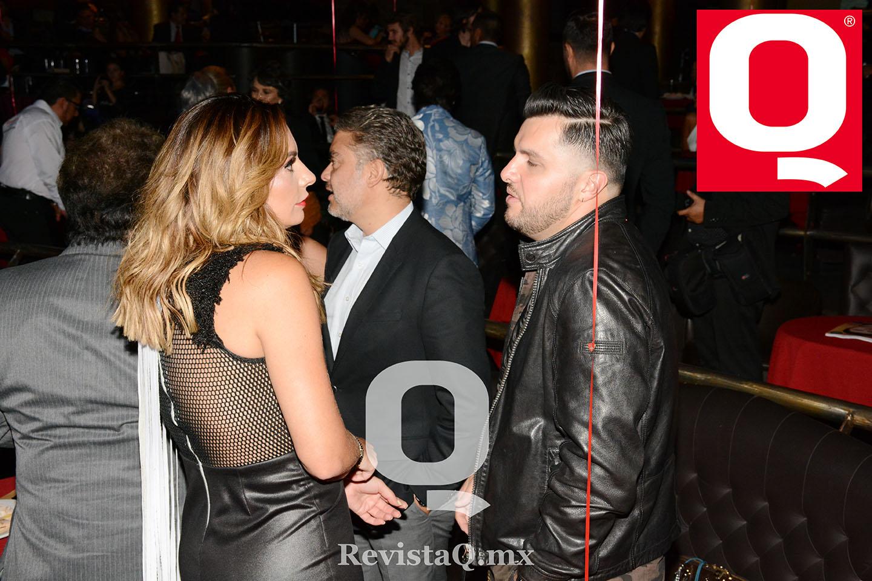 Cecilia Galliano y Paul Stanley en los Premios de la Revista Q