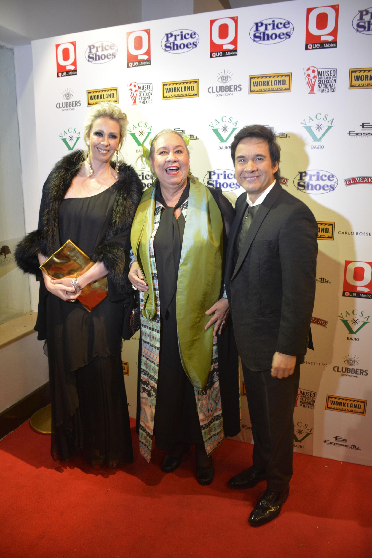 Atala Sermiento, María Prado con Gilberto Gless