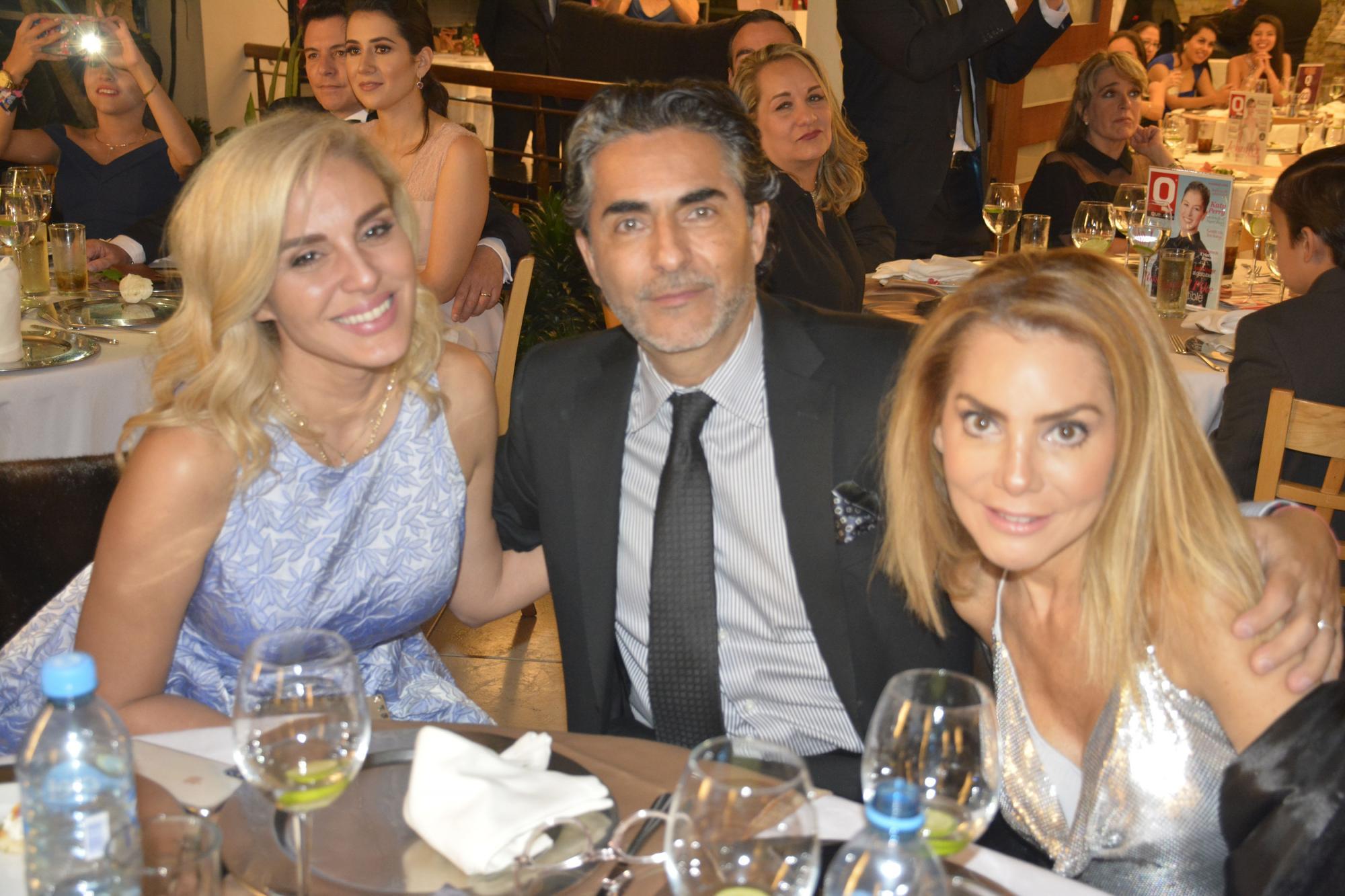 Malillany Marín, Raúl Araiza y Fernanda de Araiza
