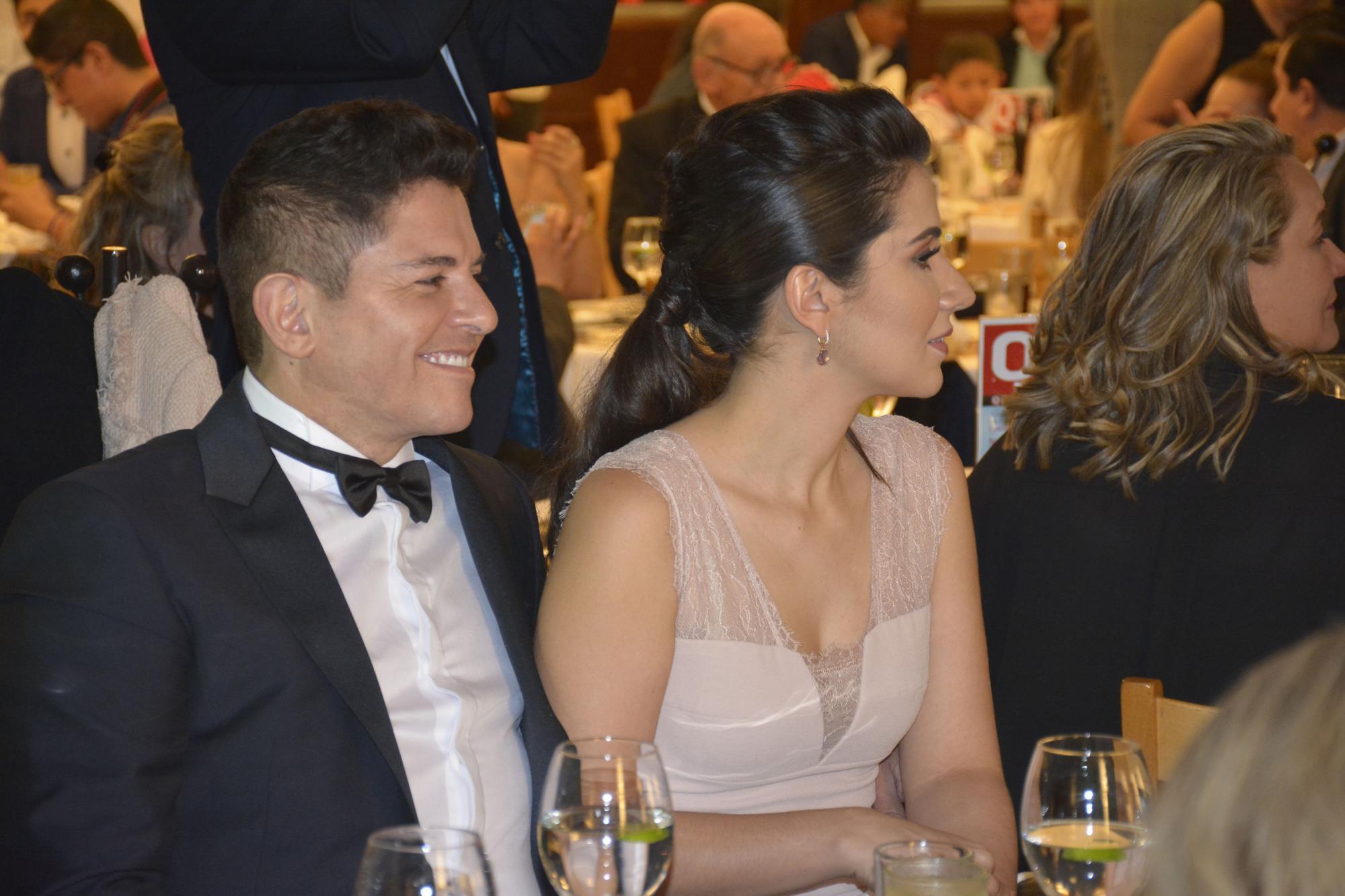 Ernesto Laguardia y su esposa Paty Rodríguez