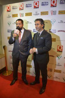 Gerardo Aguirre con Raúl Araiza