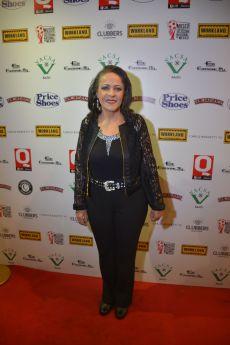 La actriz Nora Velázquez