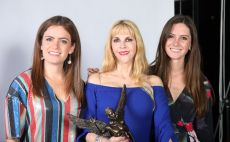 Fernanda Rodríguez, Shanik Berman y Alejandra Rodríguez