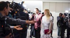 Shanik Berman a su llegada a la alfombra roja de los Premio revista Q, Qué... México en el museo Soumaya en la Ciudad de México...