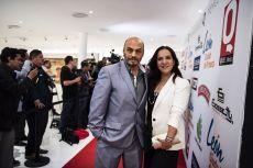 El actor del Cartel de los Sapos Estebán Franco y su esposa