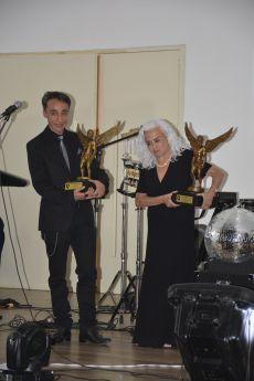 El famoso actor Roberto Sosa y su madre la legendaria actriz Evangelina Martínez