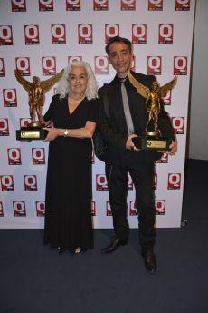 Evangelina Martínez y Roberto Sosa..